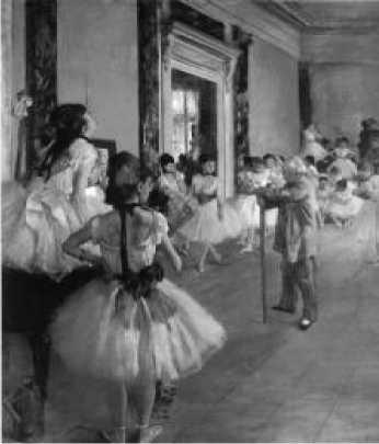 Э. Дега. Танцевальный класс. 1873-1875 гг.