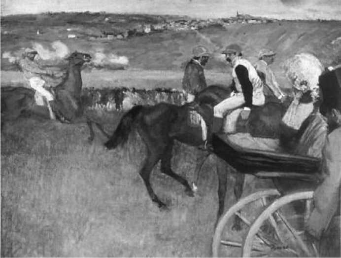 Э. Дега. На скачках. 1877-1880 гг.