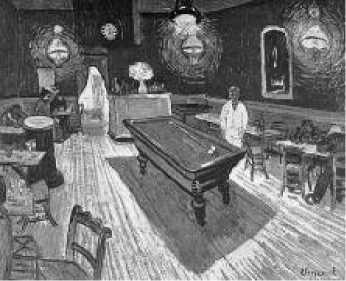 В. Ван Гог. Ночное кафе в Арле. 1888 г.