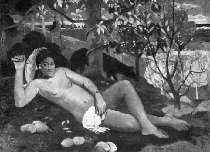 П. Гоген. Жена короля. 1896 г.