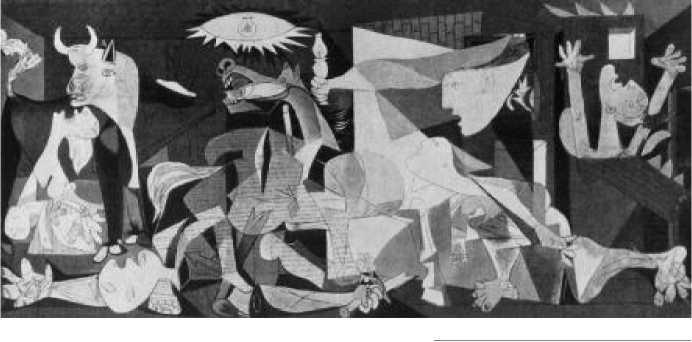 П. Пикассо. Герника. 1937 г.