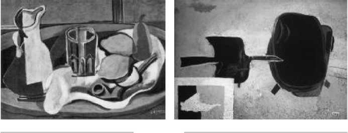 Ж. Брак. Лимоны. 1929 г. Ж. Брак. Птица и гнездо. 1955 г.