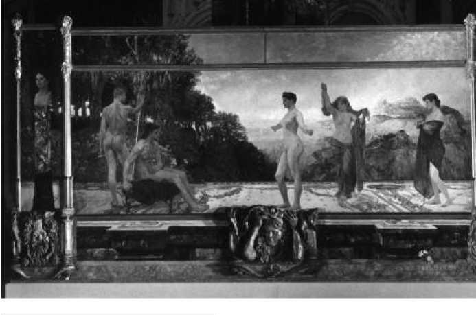 М. Клингер. Суд Париса. 1887 г.