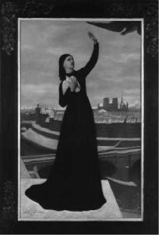 П. Пюви де Шаванн. Почтовый голубь. 1871 г.