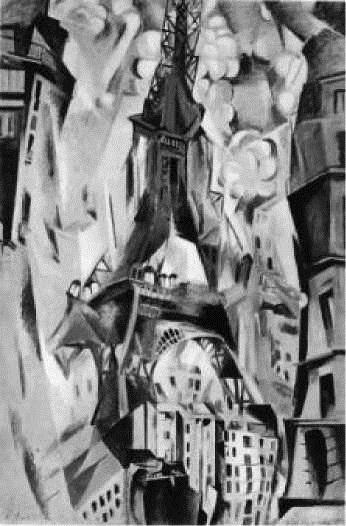 Р. Делоне. Эйфелева башня. 1926-1928 гг.