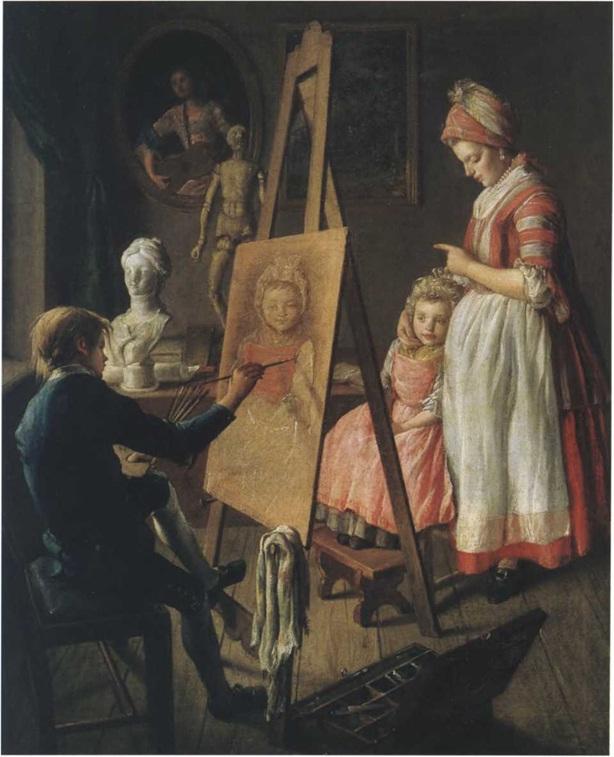 Иван Фирсов. Юный живописец. Между 1765 и 1768 холст, масло. 67 х 55 см. Государственная Третьяковская галерея