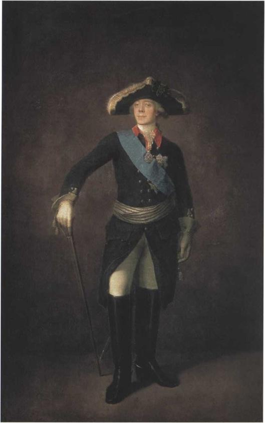 Степан Щукин. Портрет Павла I 1797 (?). Холст, масло 248 х 163 см Государственная Третьяковская галерея