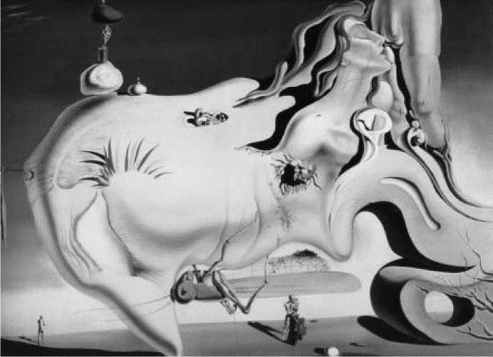 С. Дали. Великий мастурбатор. 1929 г.