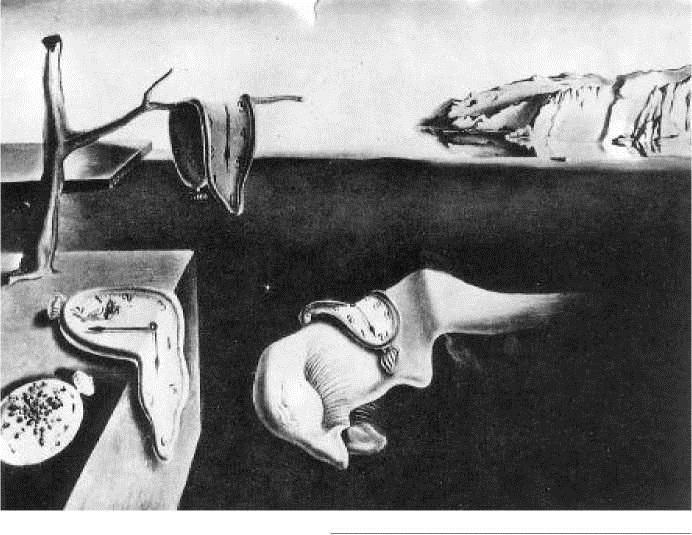 С. Дали. Постоянство памяти. 1931 г.