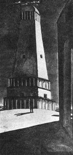 Д. Де Кирико. Ностальгия по бесконечности. 1911 г.