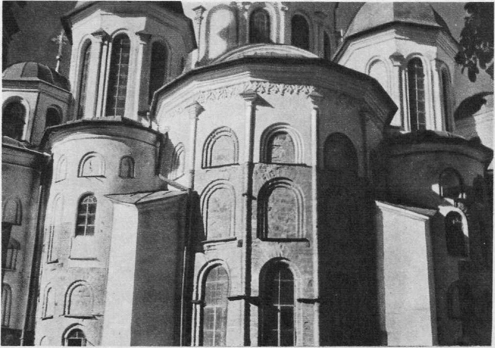 7. Софийский собор в Киеве, Между 1017 и 1037. Апсиды