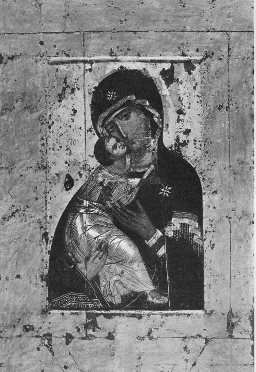 12. Владимирская Богоматерь. Икона. Начало XII в.