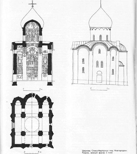 церковь Спаса-Нередицы под Новгородом (1198)