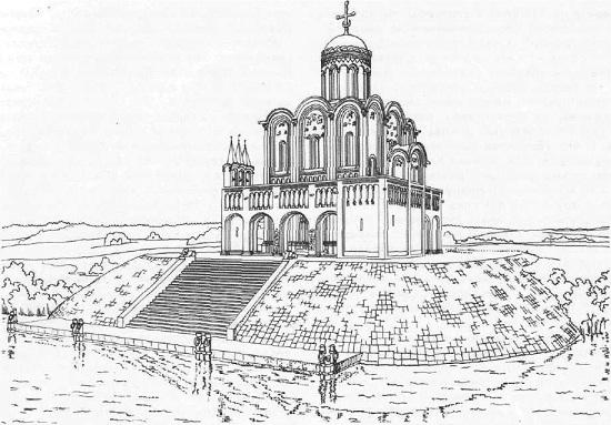 Церковь Покрова на Нарли. Реконструкция