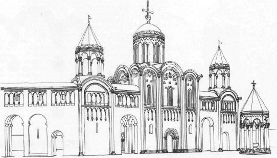 Дворцовый ансамбль в Боголюбове. Реконструкция