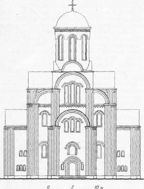 Церковь архангела Михаила (Свирская) в Смоленске. Реконструкция западного фасада