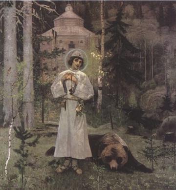 Михаил Нестеров. Пустынник.  1888-1889
