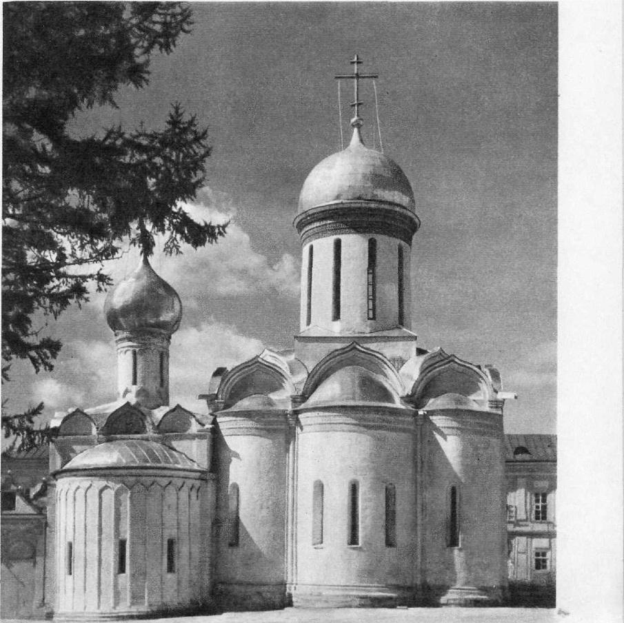 54. Троицкий собор Троице-Сергиева монастыря в Загорске. 1422—1423
