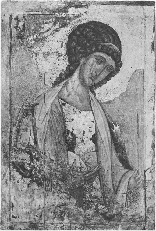 61.Архангел Михаил. Икона из Успенского собора на Городке в Звенигороде