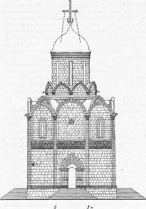 Успенский собор на Городке в Звенигороде. Реконструкция