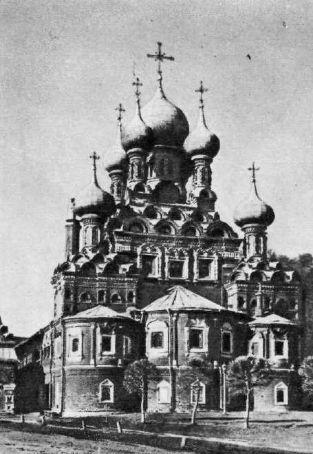 98. Павел Потехин. Церковь Троицы в Останкине. 1678-1693. Москва