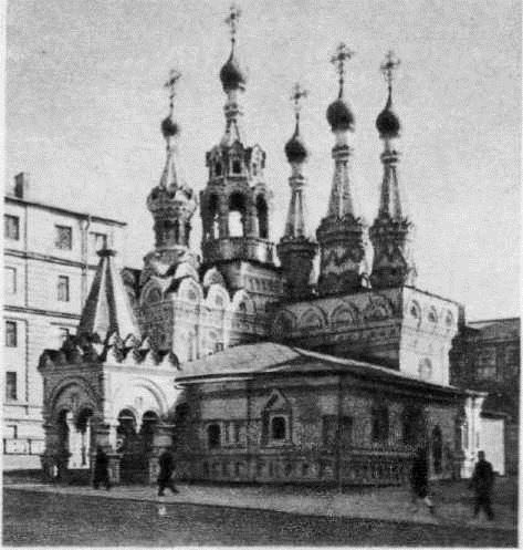 100. Церковь Рождества Богородицы в Путинках. 1649-1652. Москва.