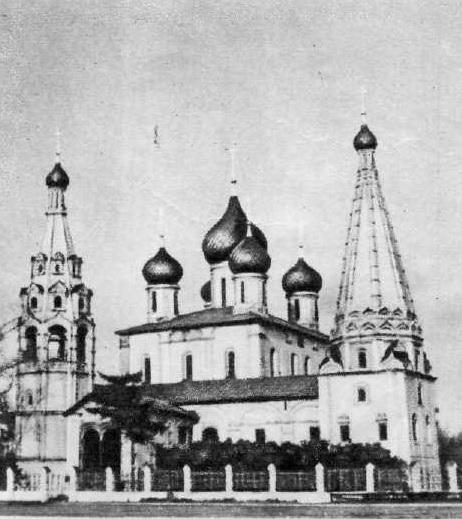 99. Церковь Ильи Пророка. 1647—1650. Ярославль
