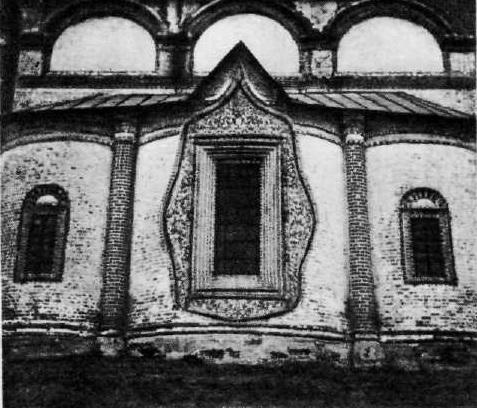 96. Церковь Иоанна Златоуста в Коровниках. 1649—1654. Апси- ды. Ярославль