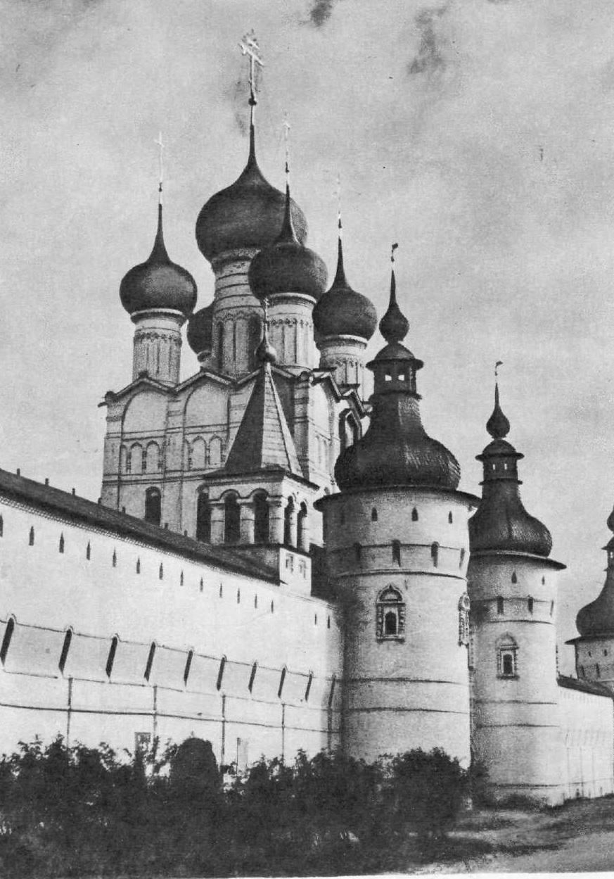 101.Петр Досаев (?). Ростовский кремль. 1670—1683