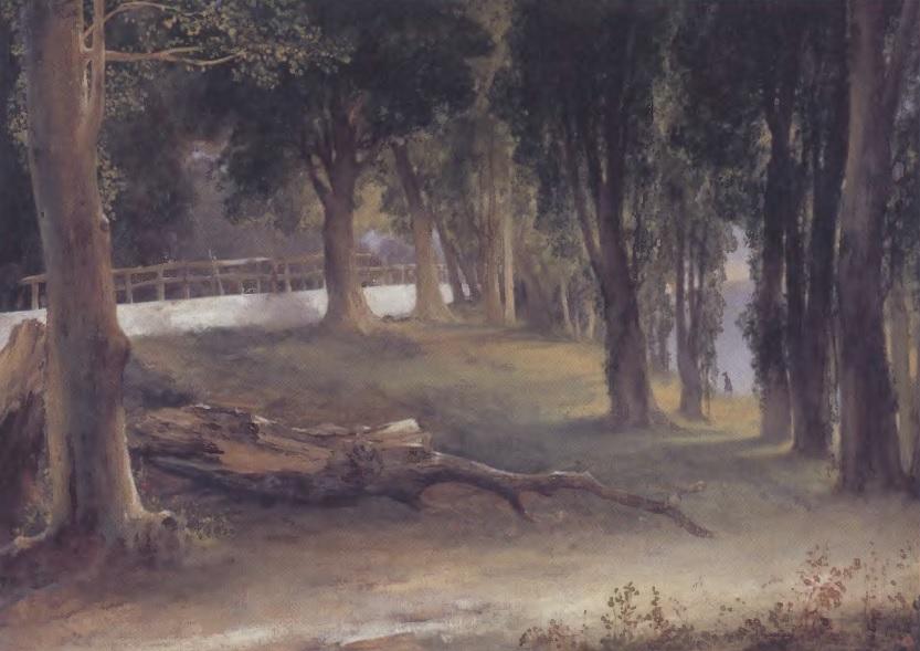 МИХАИЛ ЛЕБЕДЕВ. Альбапо. Белая стена. 1837. Холст, масло. 45 х 62 см. Государственная Третьяковская галерея
