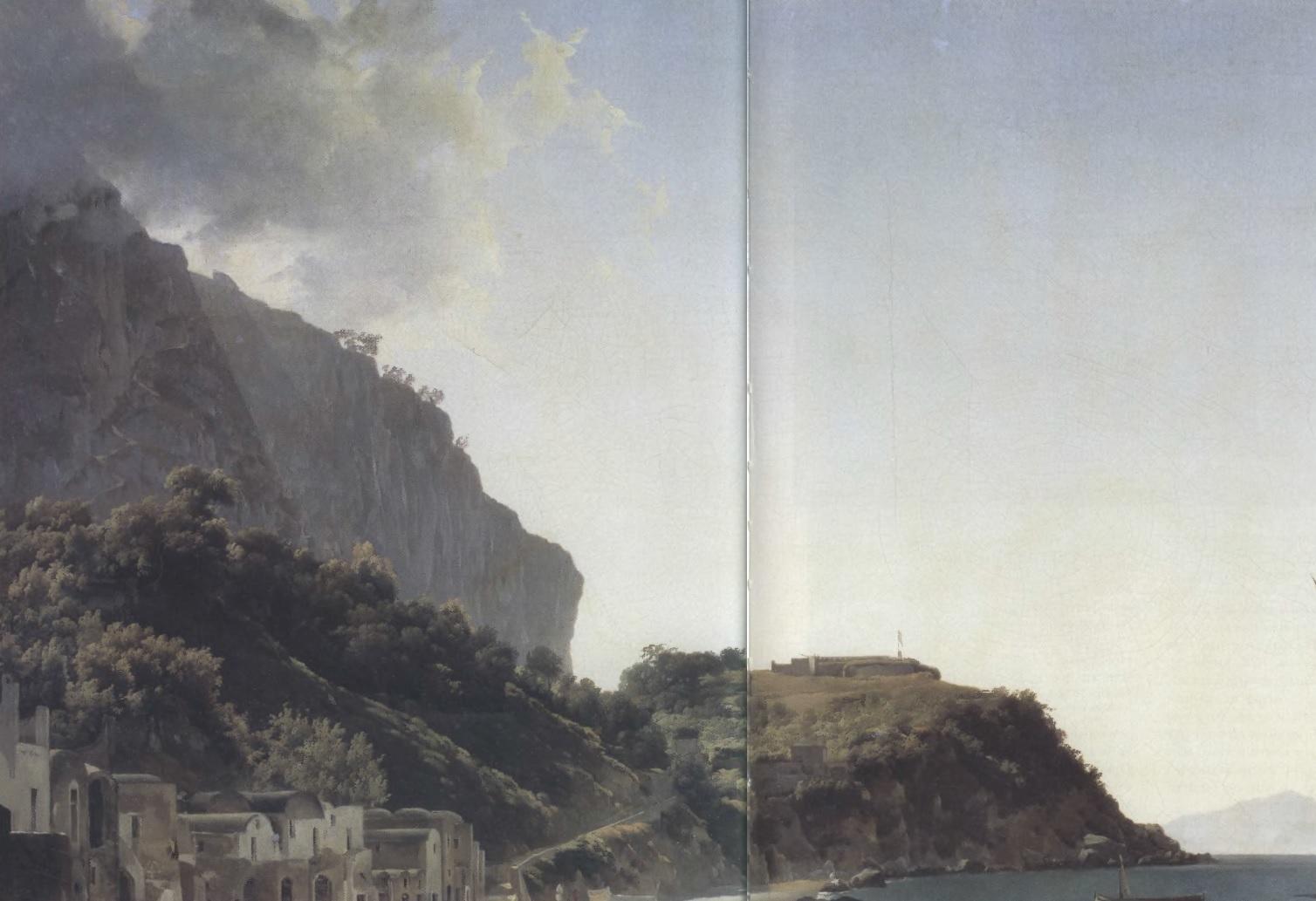 СИЛЬВЕСТР ЩЕДРИН. Большая гавань на острове Капри. 1828. Холст, масло. 60 х 85 см. Государственная Третьяковская галерея