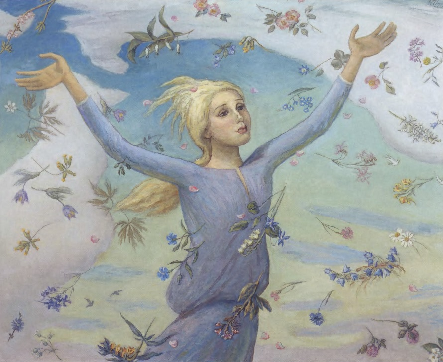 НИКОЛАЙ ЧЕРНЫШЕВ. Земной рай. Холст, масло. Центральный дом художника, Москва