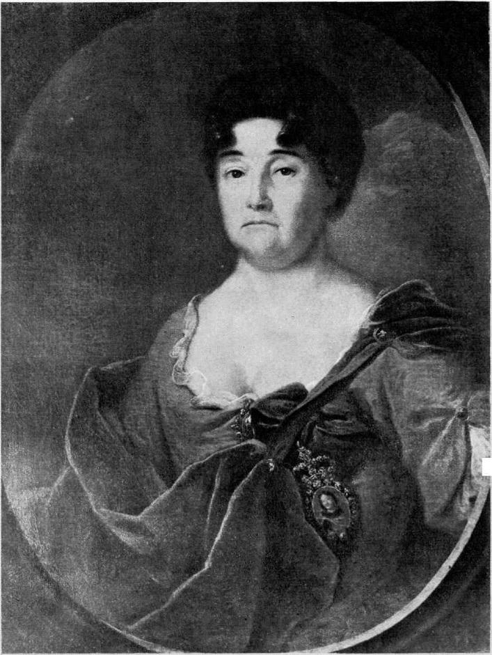 128. А. Матвеев. Портрет А. П. Голицыной. 1728
