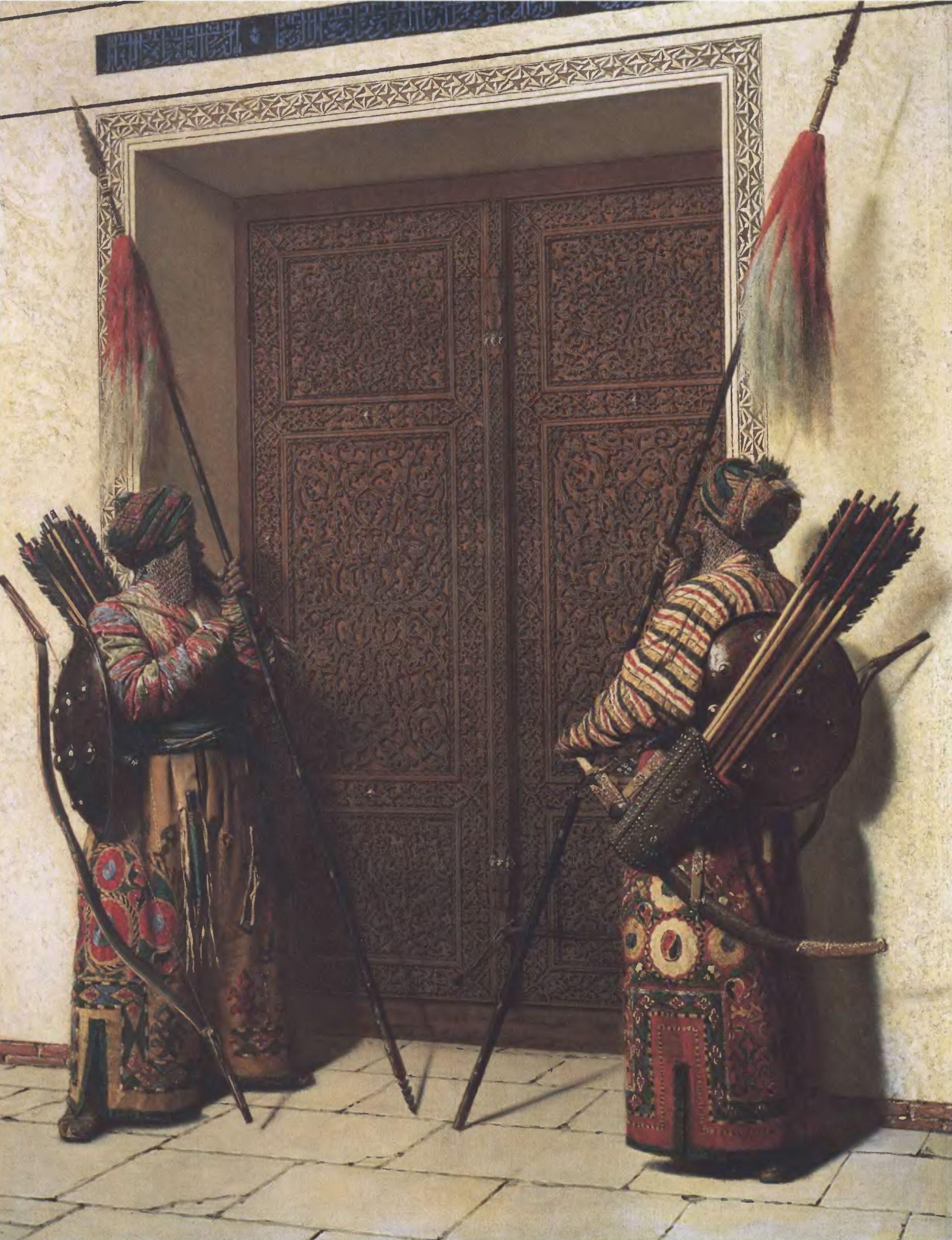 ВАСИЛИЙ ВЕРЕЩАГИН. Двери Тимура (Тамерлана). 1871—1872. Холст, масло. 213 х 168 см. Государственная Третьяковская галерея