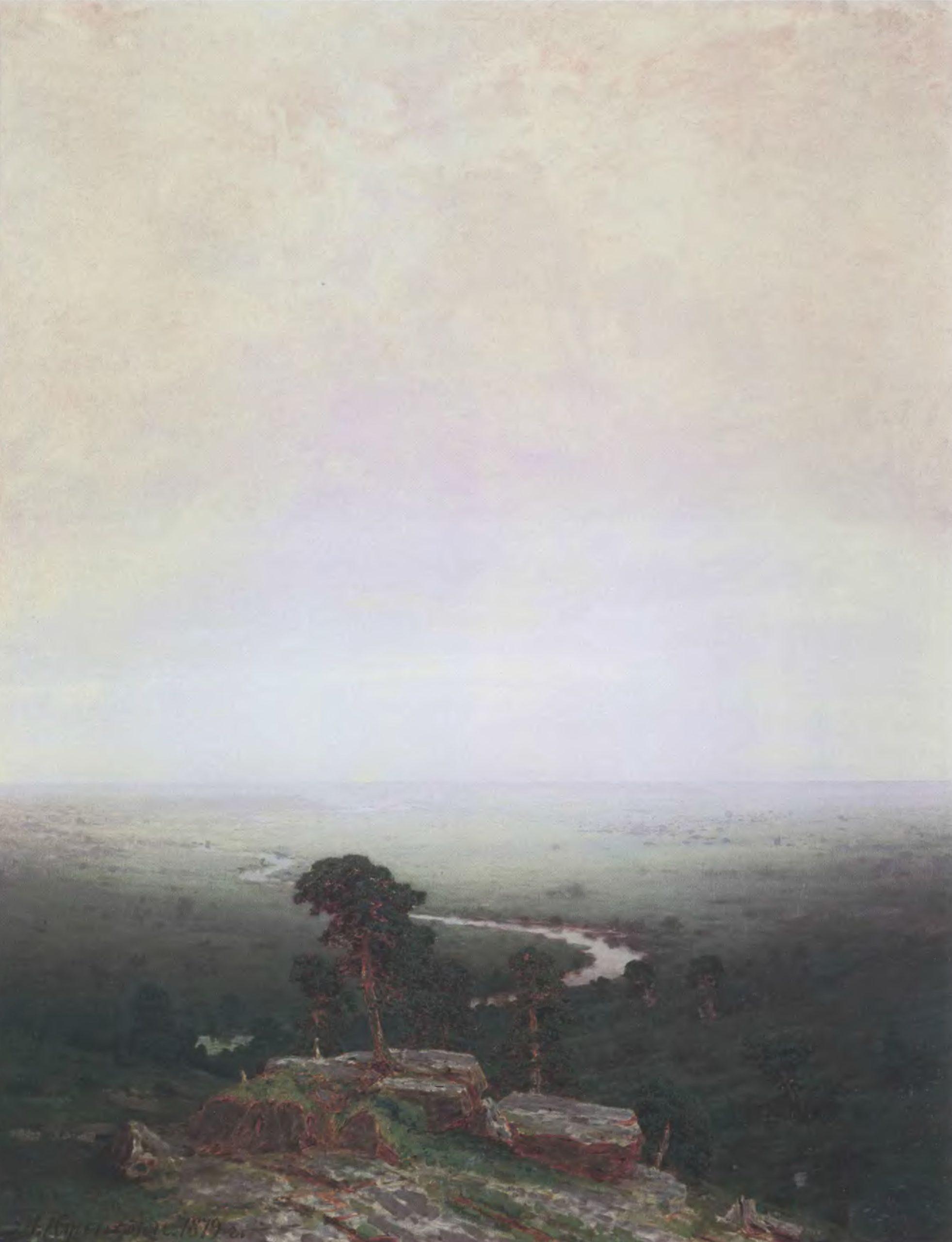 АРХИП КУИНДЖИ. Север. 1879. Холст, масло. 132 х 103 см. Государственная Третьяковская галерея